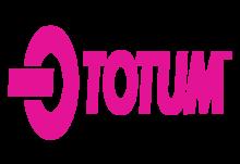 Totum logo rhodamine red c