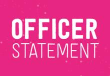 Officer statement blog