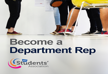 Become a department rep