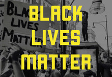 Black lives matter graphic article