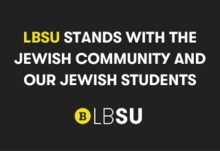 Copy of copy of lbsu stands with the black lives matter movement