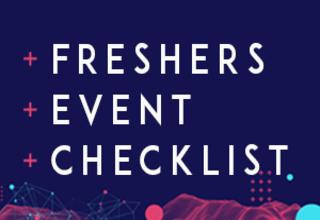 Freshers event blog post
