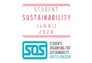 Student sustainability summit 2020 logo   twitter post colour