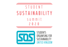 Student sustainability summit 2020 logo   twitter post colour