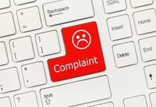 Complaint button on keyboard