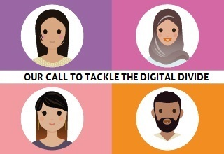 Tackling the digital divide article image