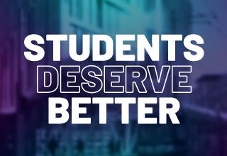 Students deserve better news thumb