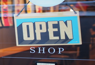 Retail open sign 400x400