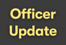 Update from officers