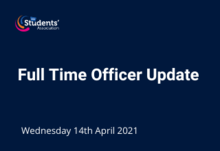 Full time officer update article 14.04.21