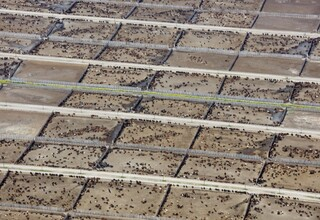 Aerial shot of part of a feedlot   credit dan pratt   website