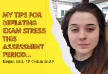 My tips for defeating exam stress this assessment period...