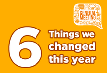 6 things we changed