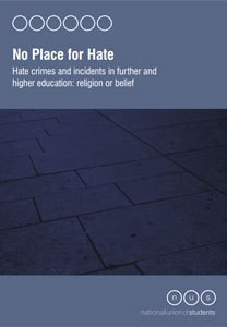 No place for hate   religion and belief report may 2012