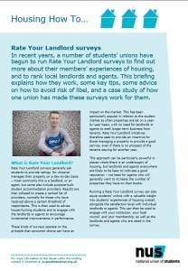 Housing how to   rate your landlord
