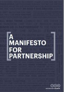 A manifesto for partnership