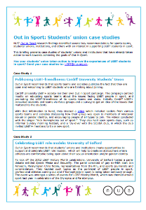 Out in sport case studies