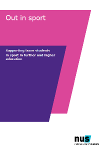 Out in sport   trans guidance