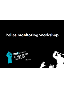 Police monitoring workshop thumb