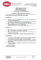 Fair access to ubu clubs motion 2012