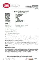 Standing committee january 2014