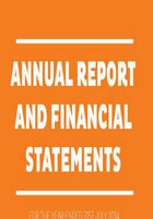 Annual report and financal statements 2014