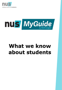 What we know about students front page