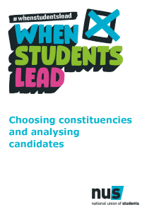 Choosing constituencies and analysing candidates front cover 208x300
