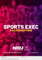 Sports exec role