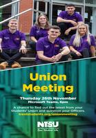 Union meeting social insta