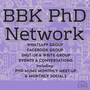 Bbk phd students network remix in album cover