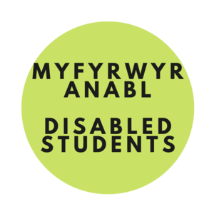Disabled students logo