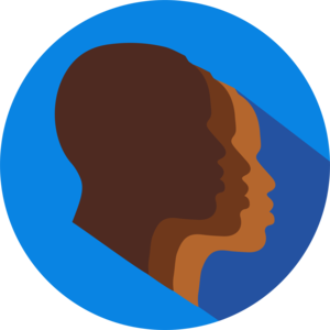 Black students network icon