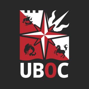 Uboc logo dark bg filled