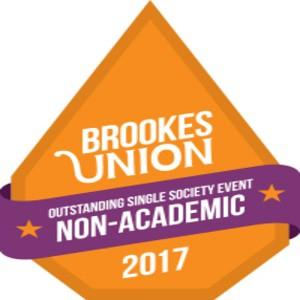 Brookesunion awards 2017 outstandingsinglesocietyeventnonacademic