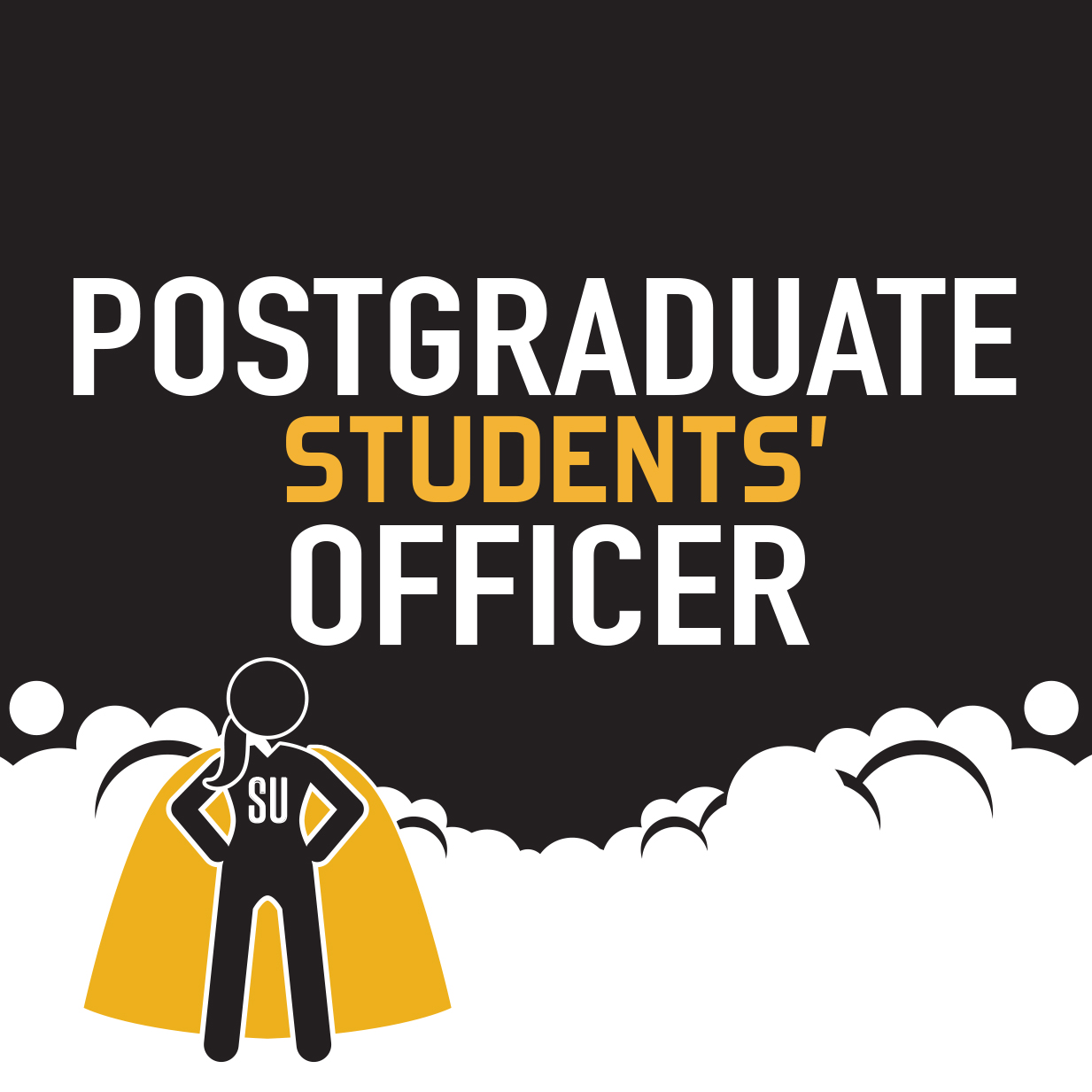 Graphic image representing Postgraduate Students' Officer