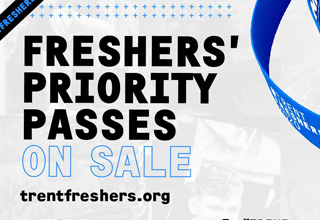 Freshers Priority Passes on sale
