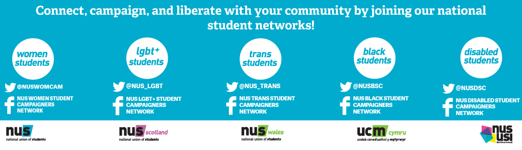 Connect, campaign and liberation with your community by joining our national students networks!