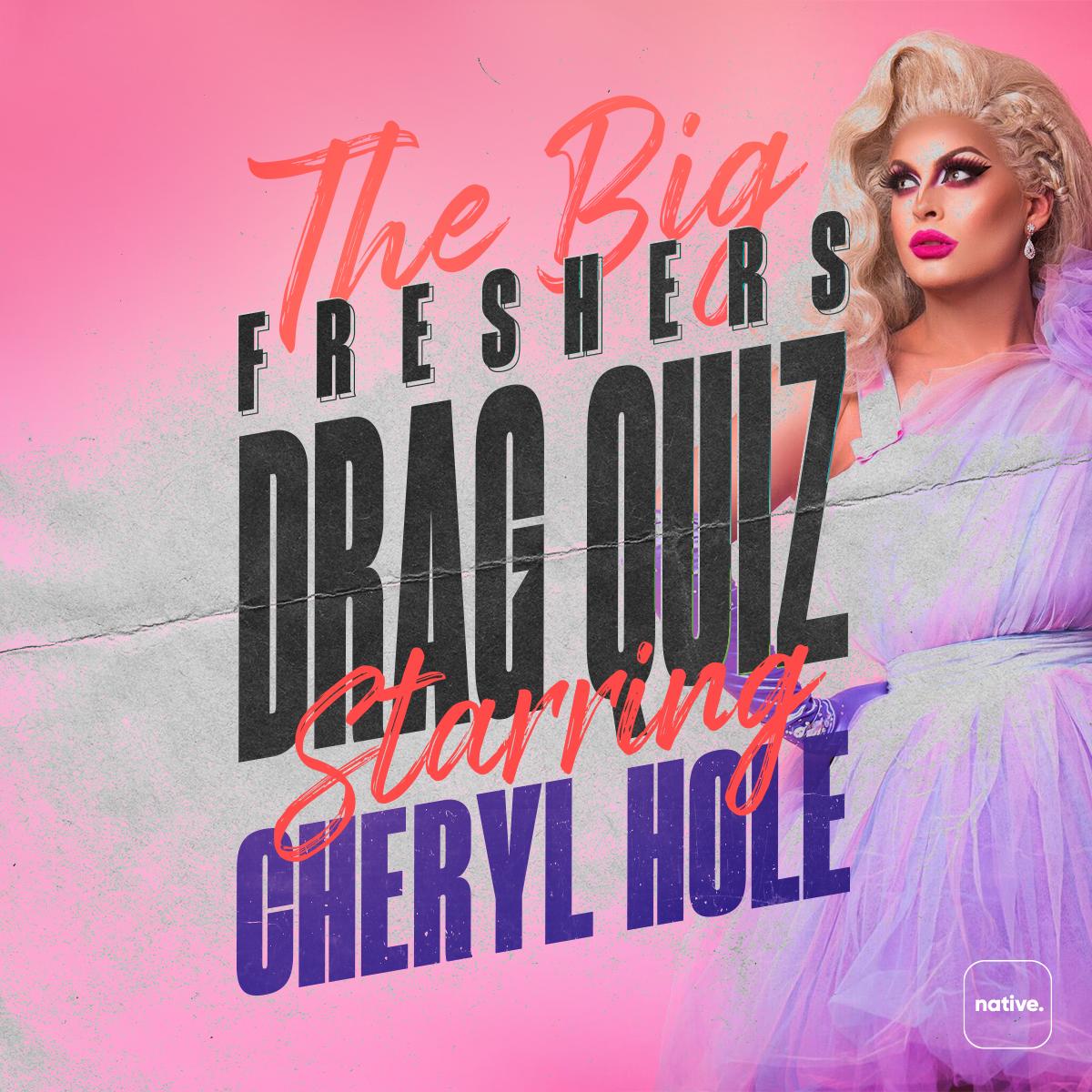 Freshers drag quiz