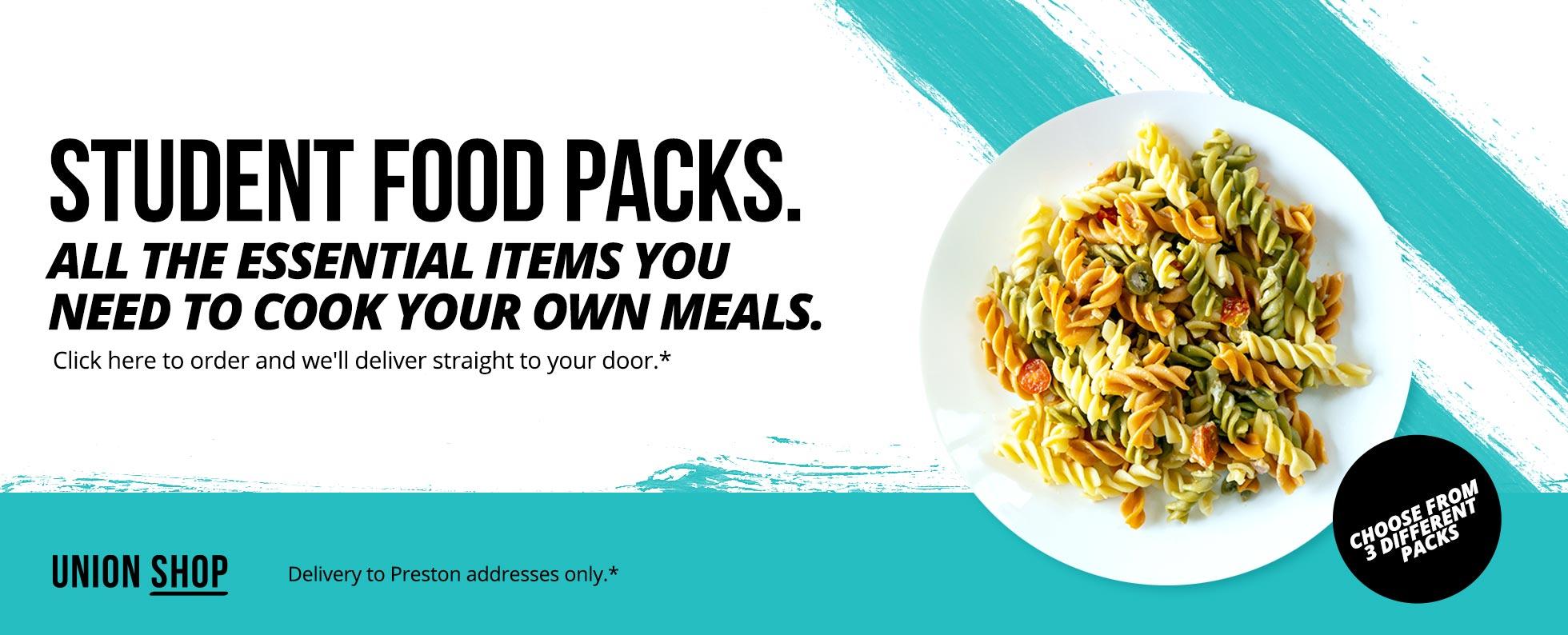 Food Parcel Web Banner