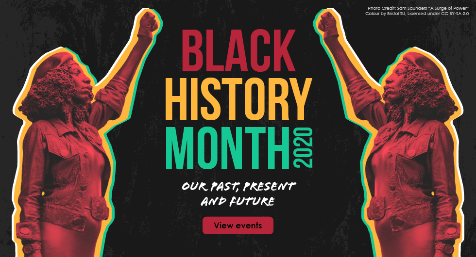 Black History Month 2020. Book your free tickets.