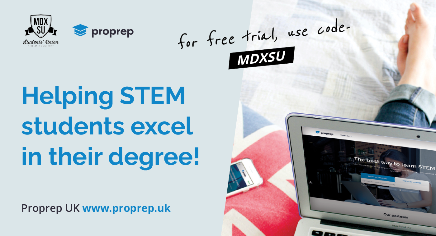 AD - Proprep, helping S T E M students excel in their degree