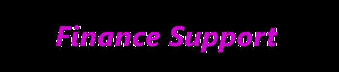 Finance Support