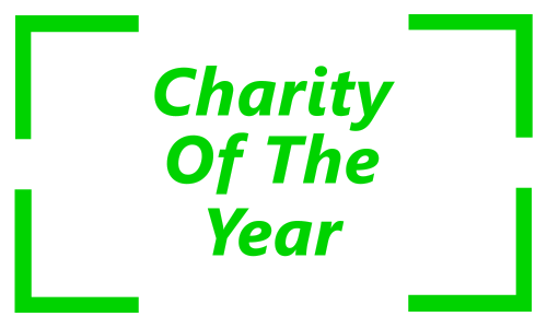 Charity of the Year Button