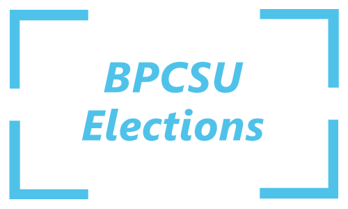 BPCSU Elections Button