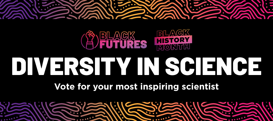 Black history month Diversity in Science. Vote for your most inspiring scientist