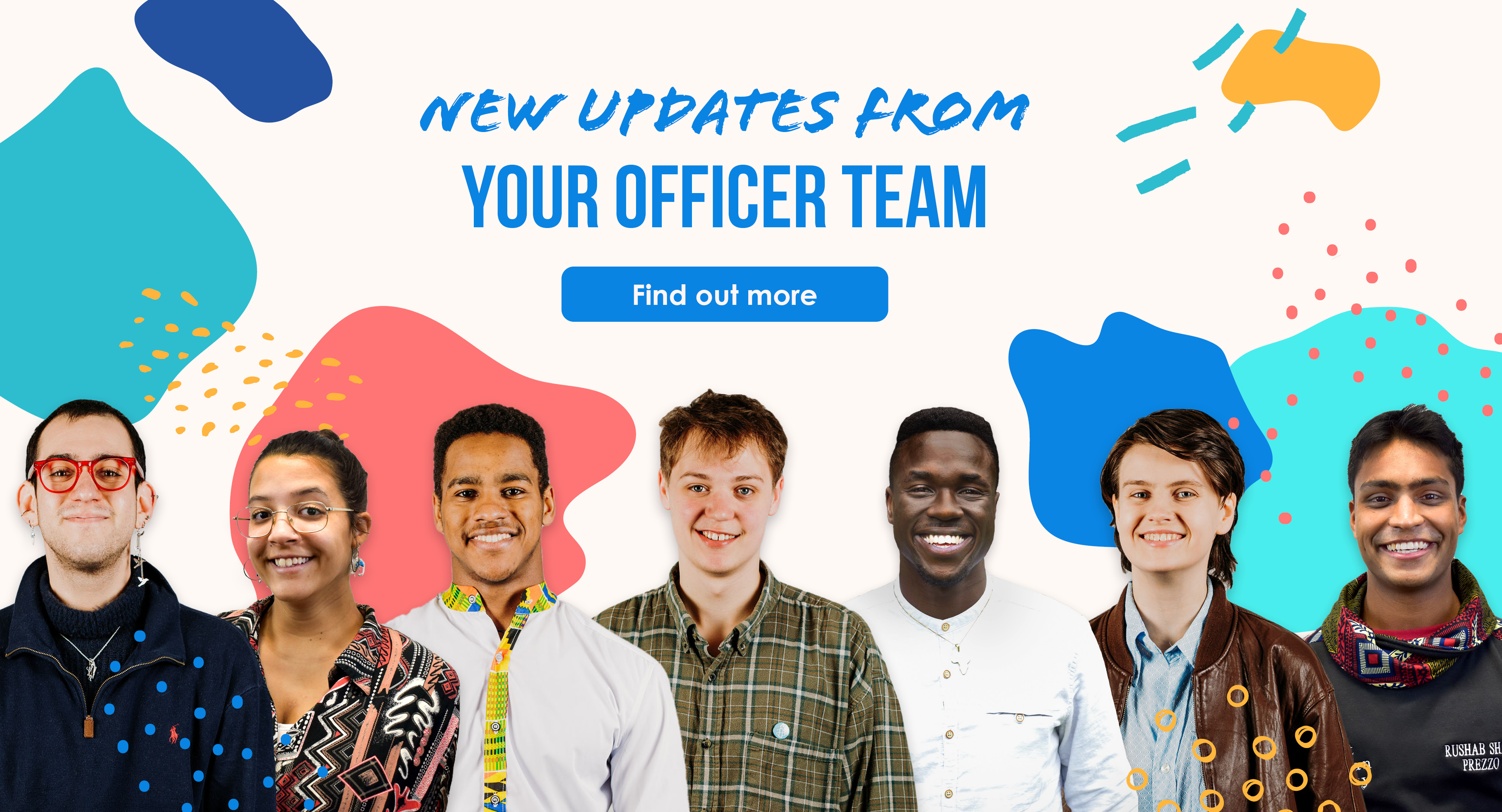 Updates from your officer team. Find out more.