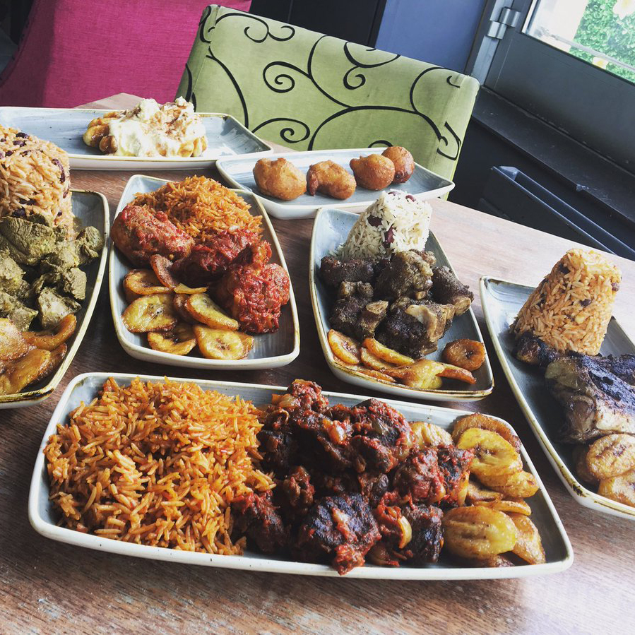 Some Afro-Caribbean food from Foodlord