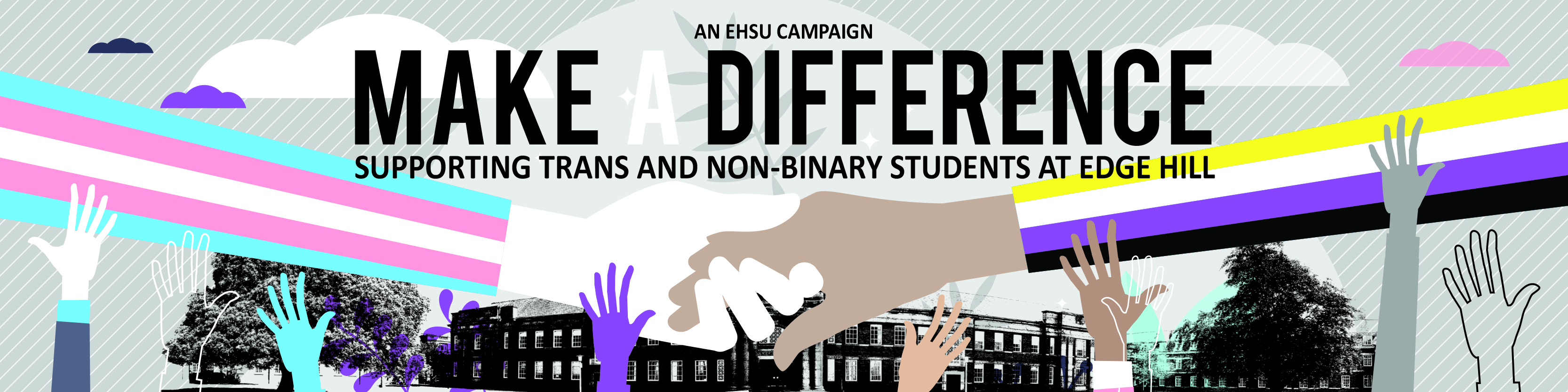 Make A Difference: Web Header Image
