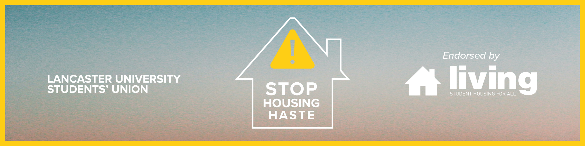 Stop Housing Haste banner image